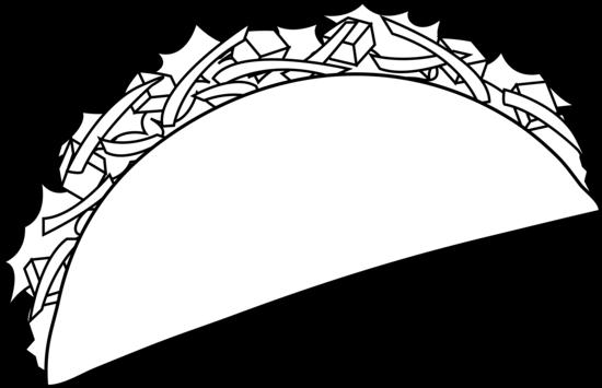 Taco clip art clipart 2