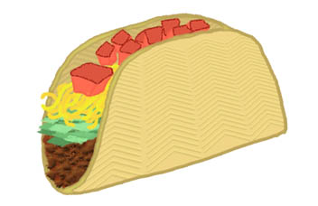 Taco clip art clipart taco clipart