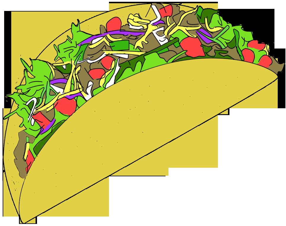 Taco clip art free vector clipart