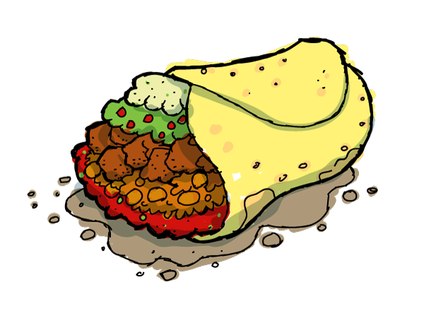Taco clipart free images clipart