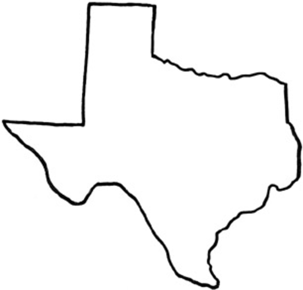 Texas outline clipart free images 4