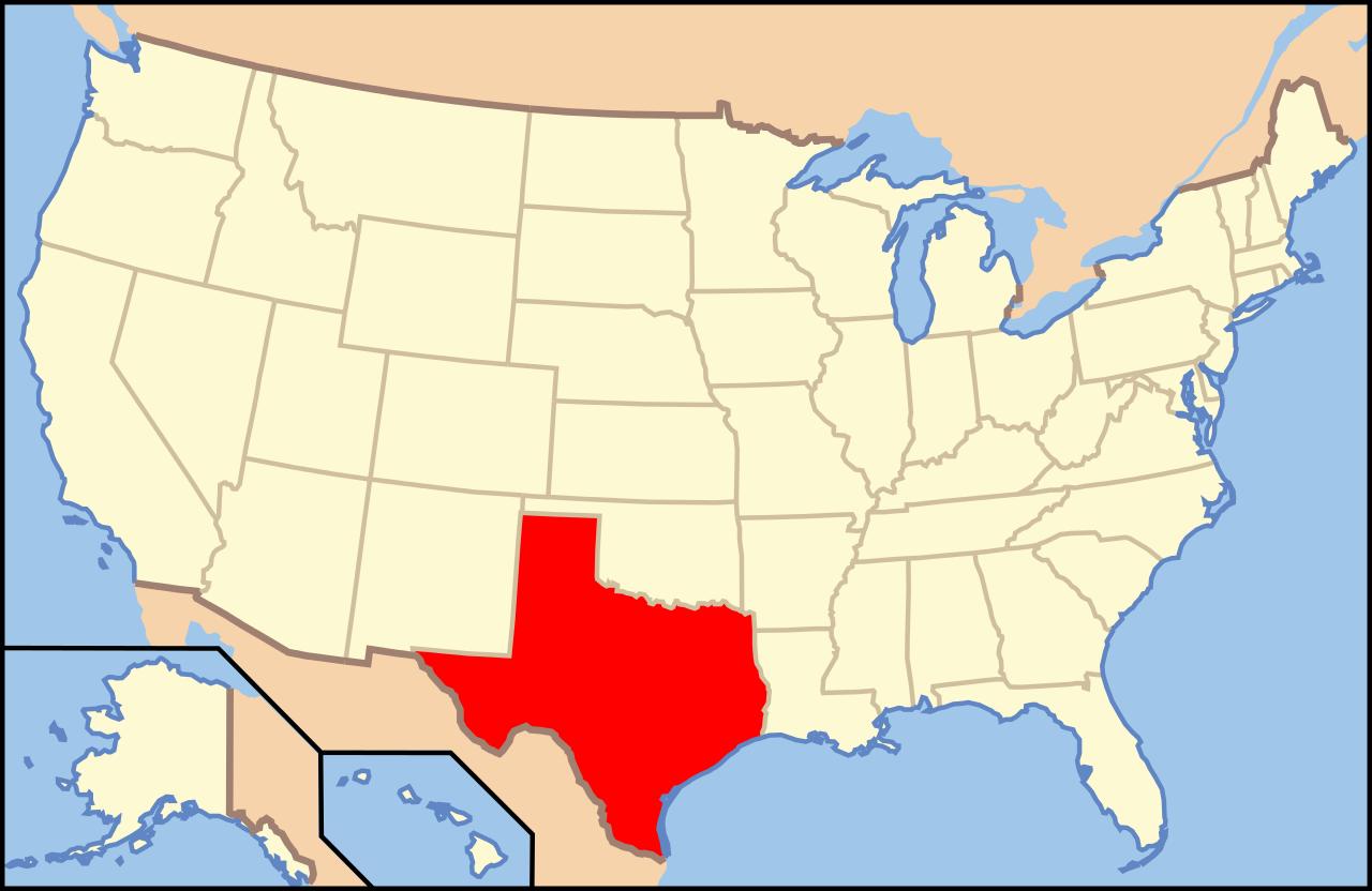 Texas outline outline of texas pedia