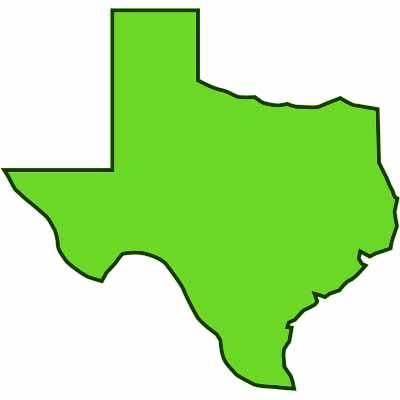 Texas outline outline texas clipart