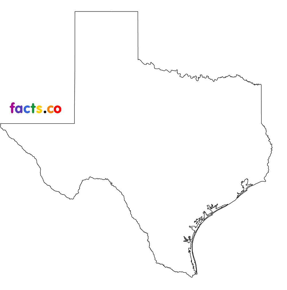 Texas outline texas state map with cities download blank outline map of 3