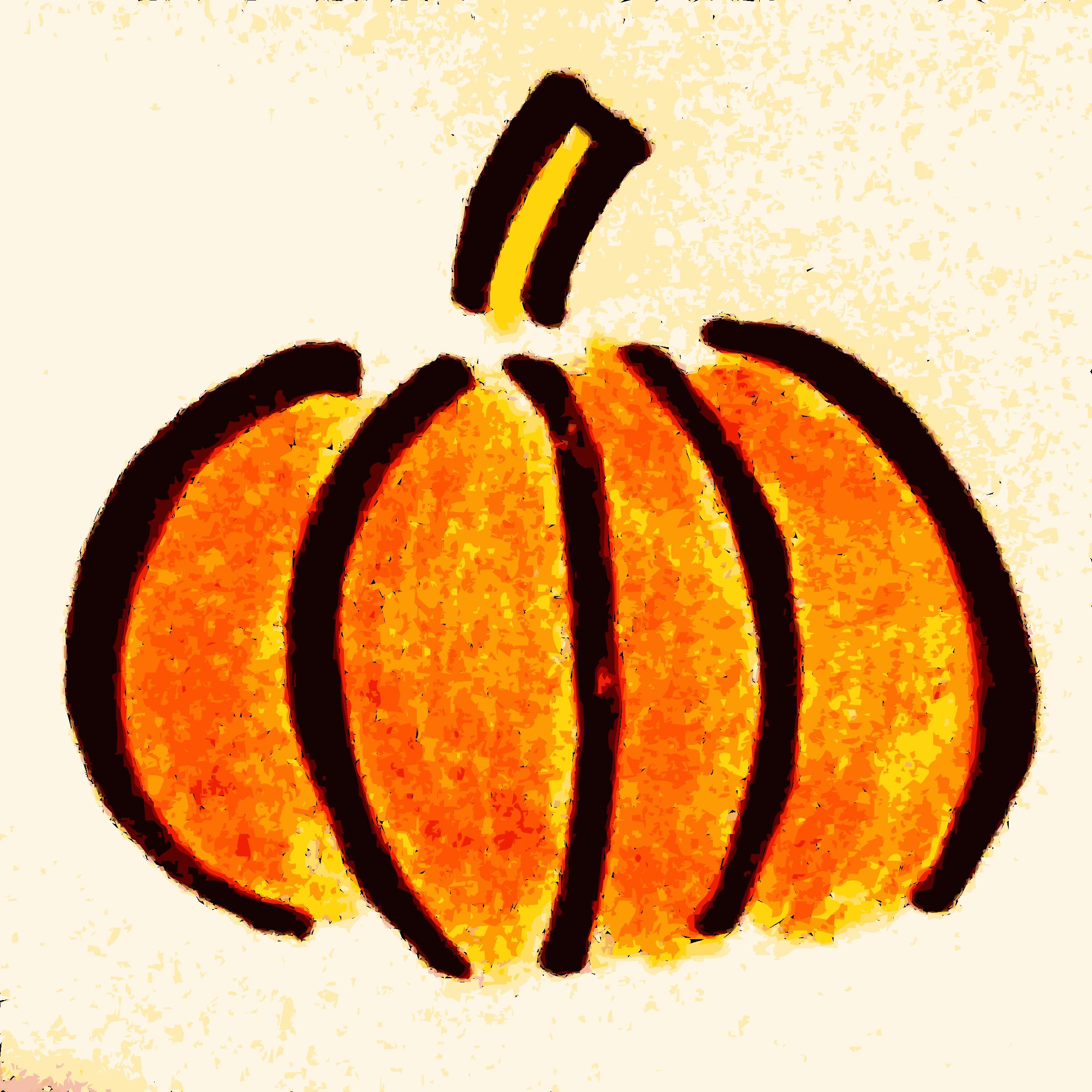 Thanksgiving pumpkin clipart image