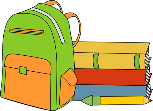 This school backpack clip art free clipart images clipart
