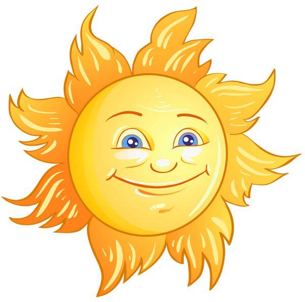 Transparent deco sun clipart picture image