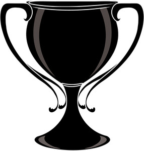 Trophy clipart black and white free images