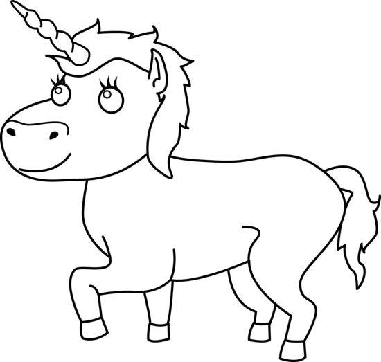 Unicorn  black and white unicorn clip art black and white free clipart images