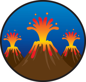 Volcano clip art free clipart images 10