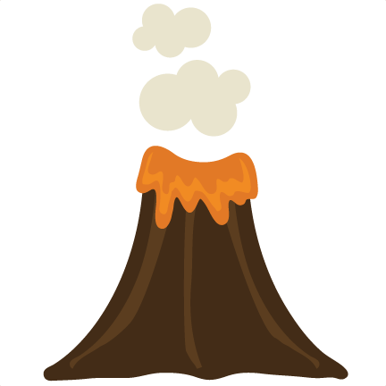 Volcano clip art free clipart images 12