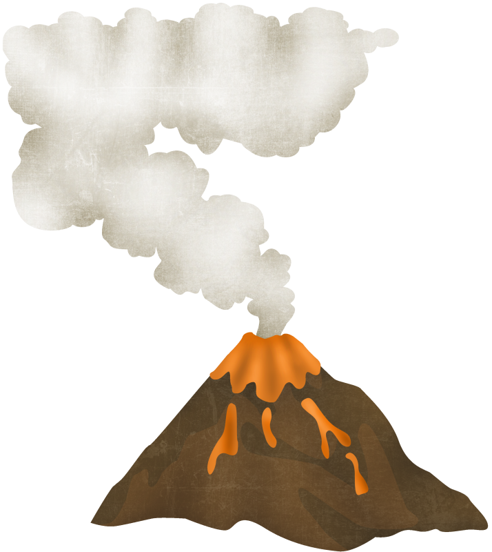 Volcano clip art free clipart images 2 clipart