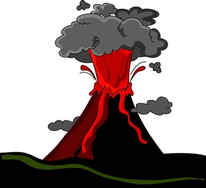 Volcano clip art free clipart images 2 image