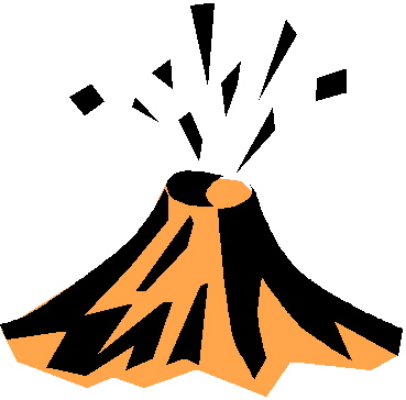 Volcano clip art free clipart images 5
