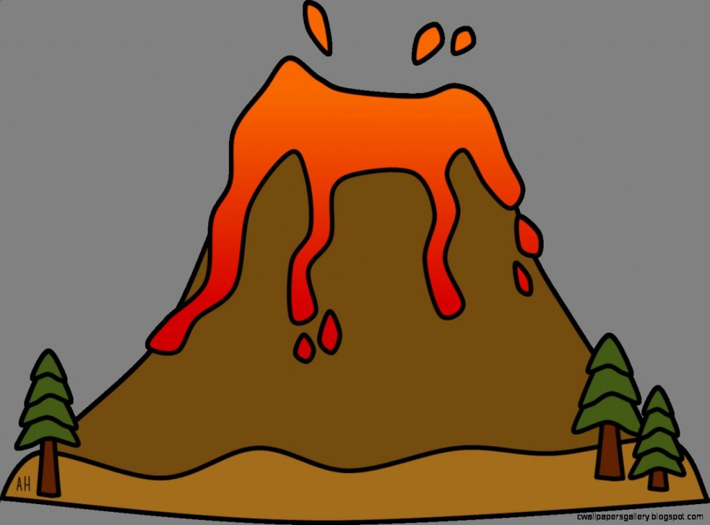 Volcano clip art free clipart images 6