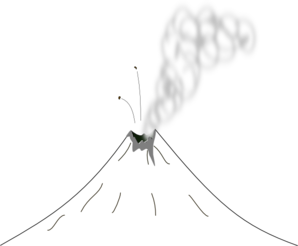 Volcano clip art free vector images clipart