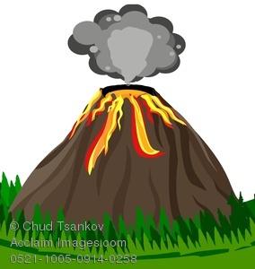 Volcano clip art tumundografico 4