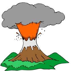 Volcano clip art tumundografico 5