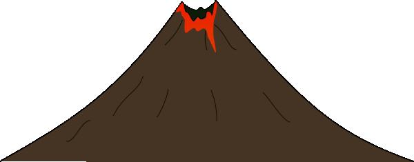 Volcano clip art tumundografico