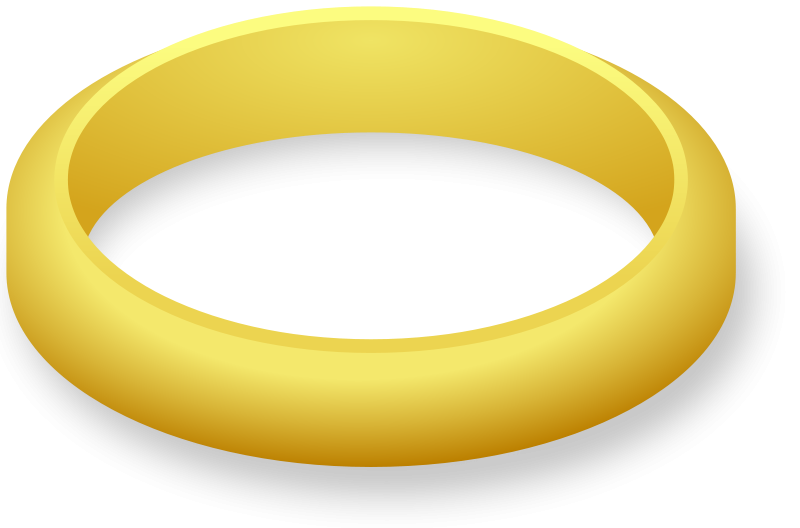 Wedding and engagement ring clipart free graphics