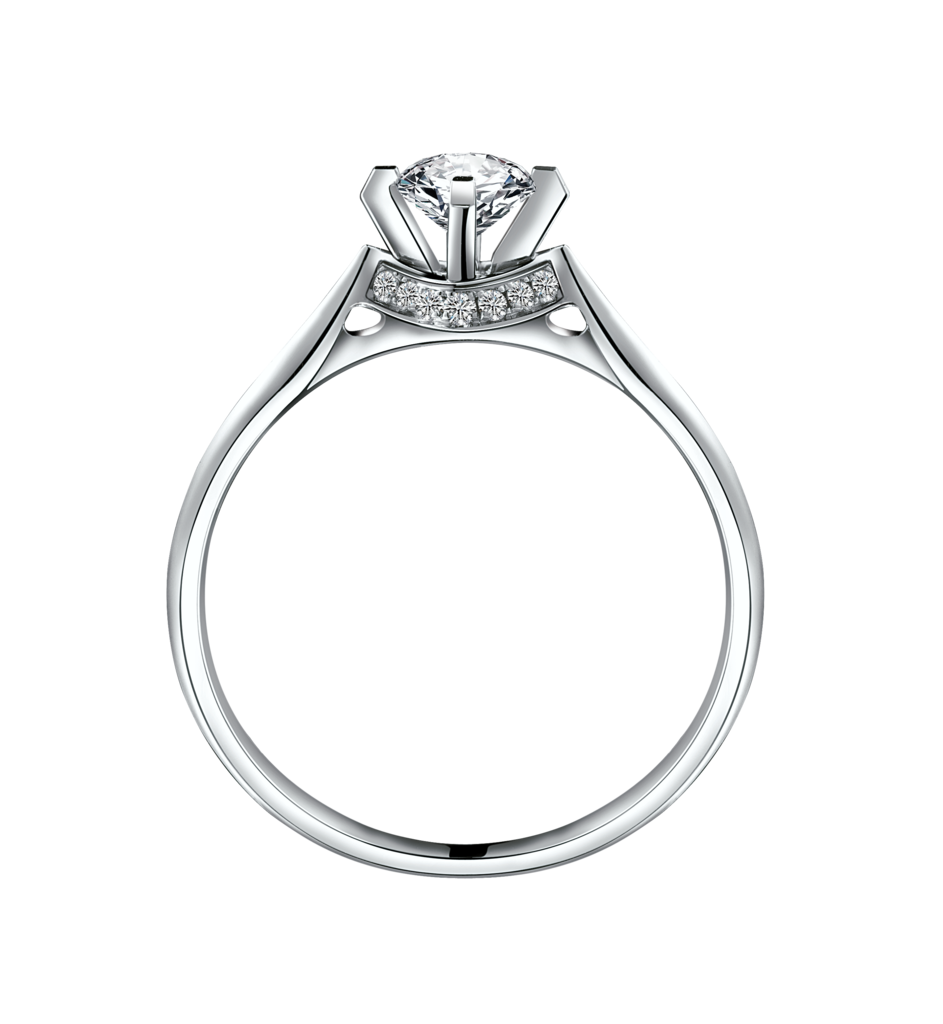 Silver wedding rings clip art