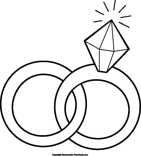 Wedding ring clipart tumundografico