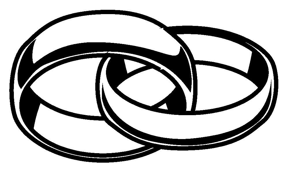Wedding rings clip art tumundografico