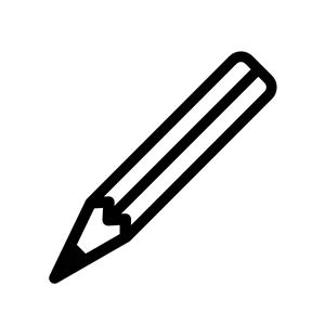 White crayon clipart