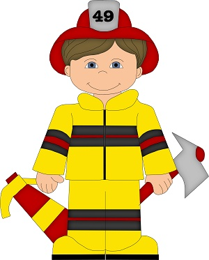 0 images about firefighter clip art on art