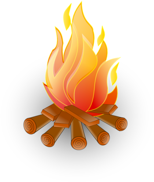 Animated fire clipart