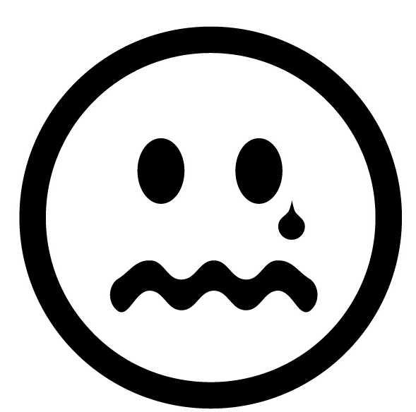 Animated sad faces clipart