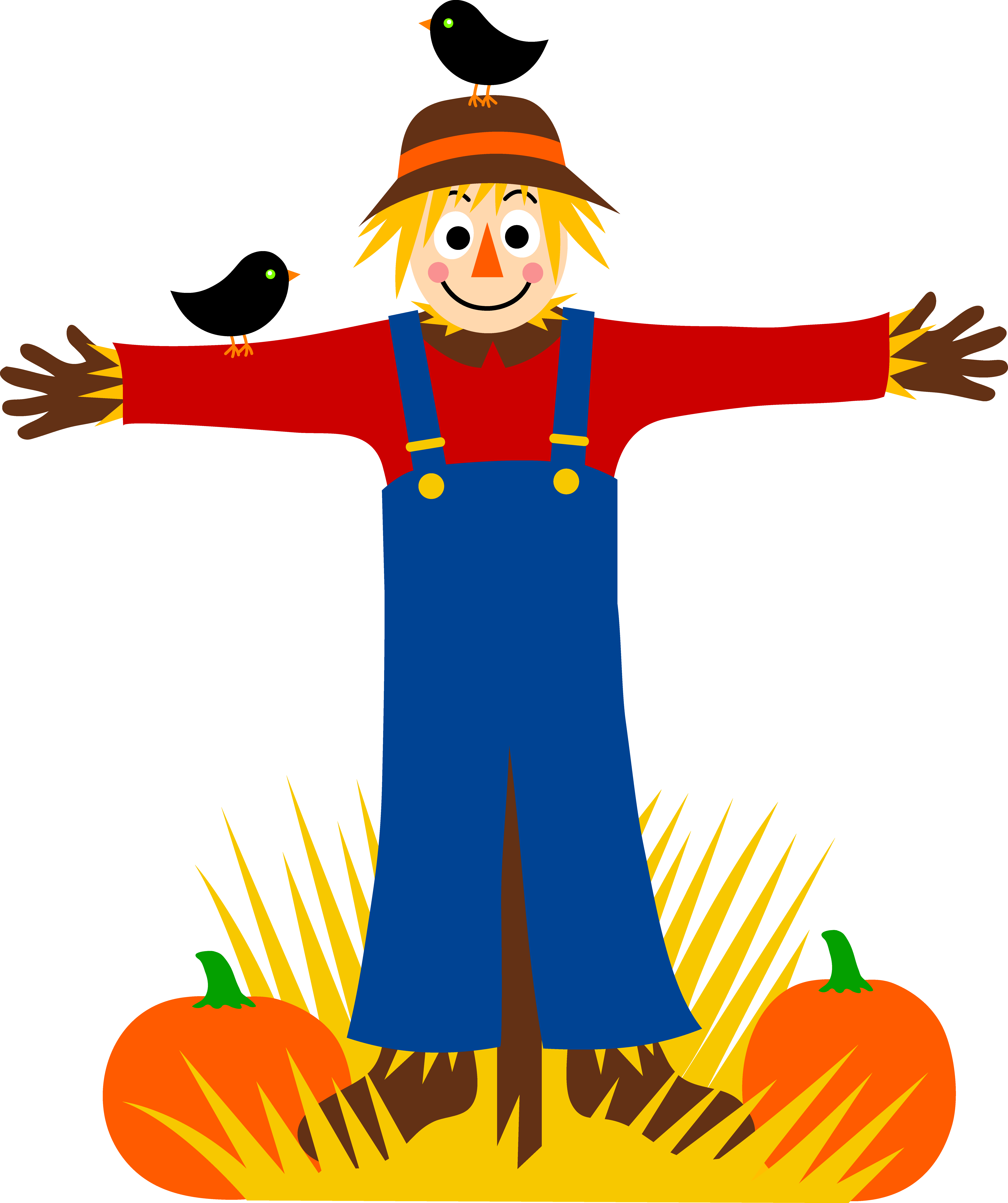 Animated scarecrow clipart