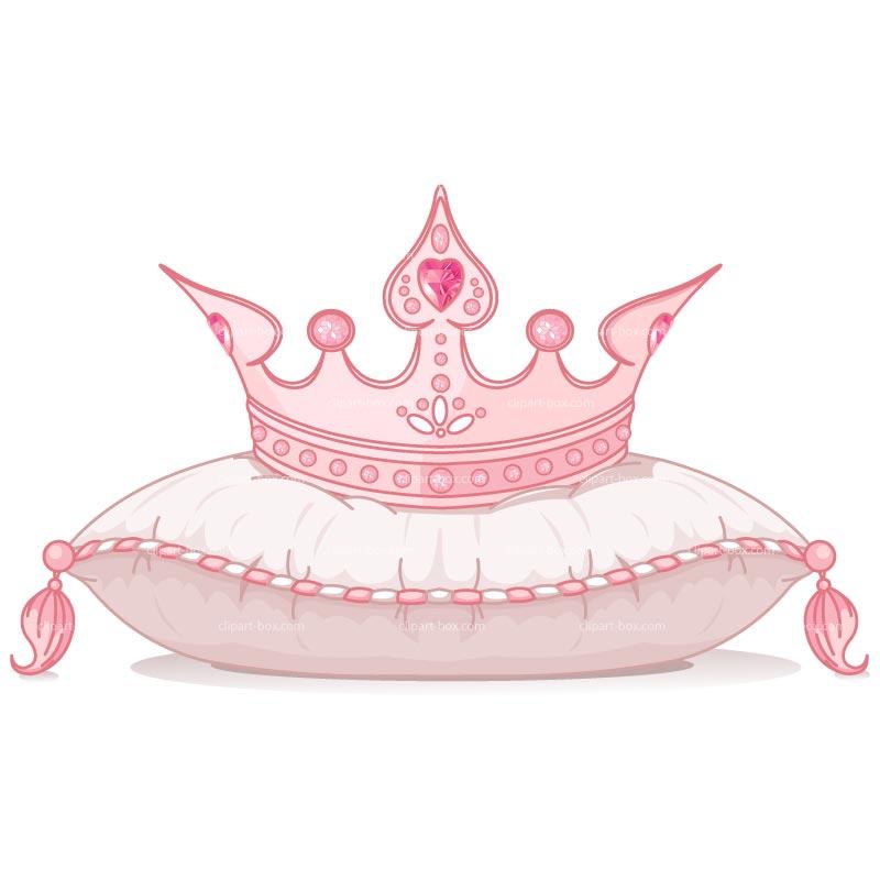 Baby girl tiara clipart