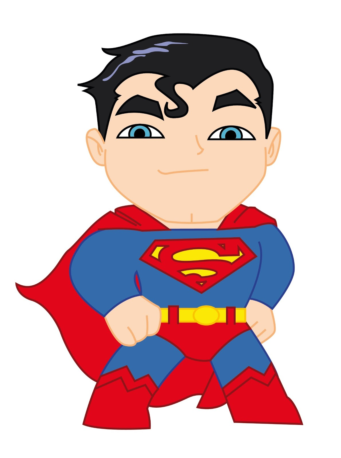 Baby superman clipart