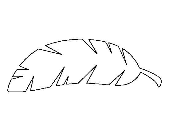 Banana tree leaf outline clipart