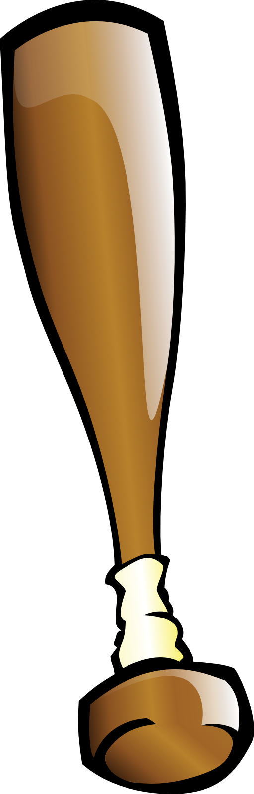 Baseball bat clipart 2