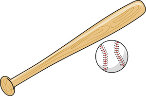 Baseball bat clipart 4