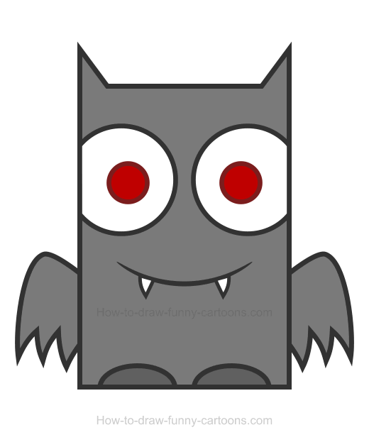 Bat clipart 6