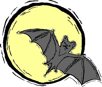 Bats clip art 2