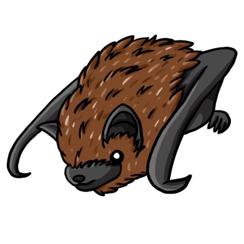 Bats clip art 3