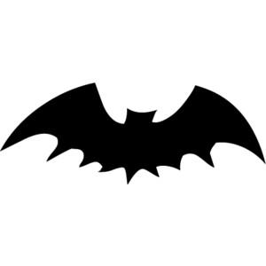 Black bat clipart clipartfox