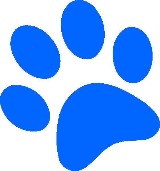 Bobcat paw print clipart 2