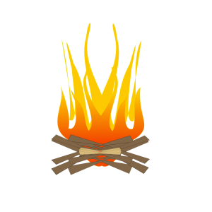 Camp fire clip art download