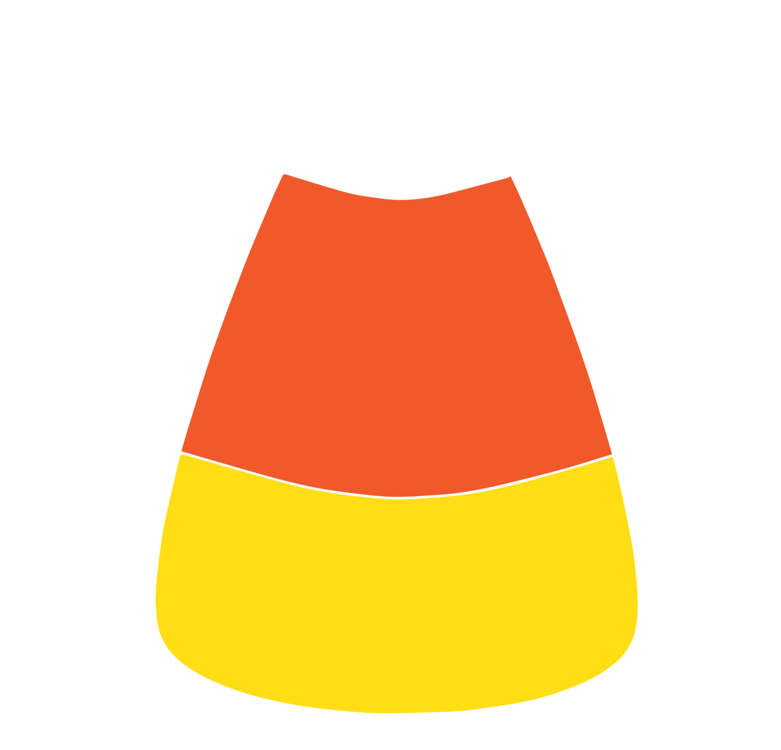 Candy corn border clip art free clipart images 2