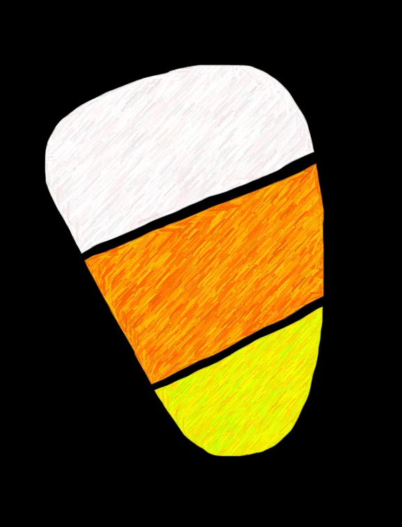 Candy corn clip art free 2