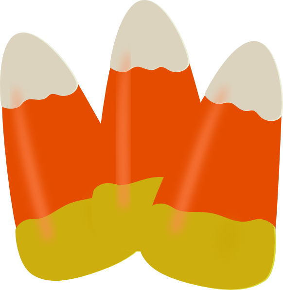 Candy corn clip art free clipart