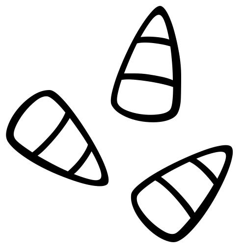 Candy corn clip art free famclipart