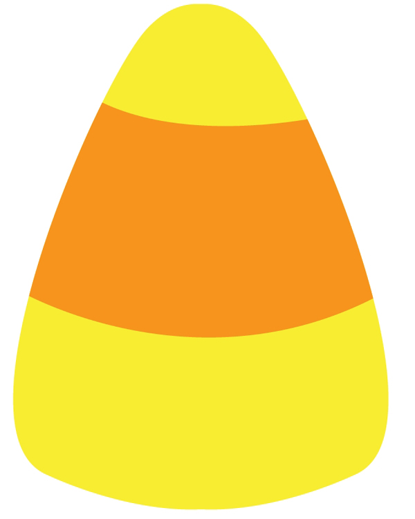 Candy corn clipart 3 clipart