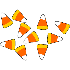 Candy corn clipart 4