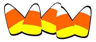 Candy corn clipart 6